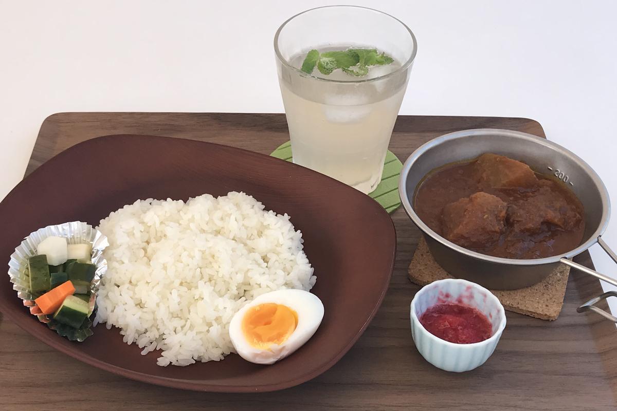 「赤城」(950円)と「自家製ジンジャエール」(400円)