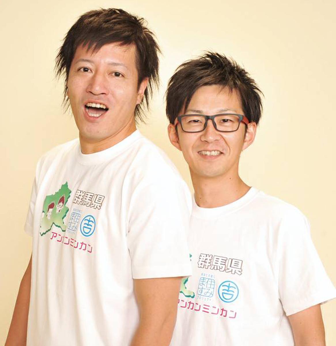ボケ担当の川島さん(左)とツッコミ担当の富所さん(右)