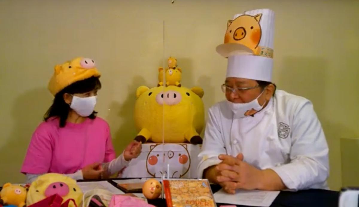 砂長弘人さん(右)と岡田直美さん(左)