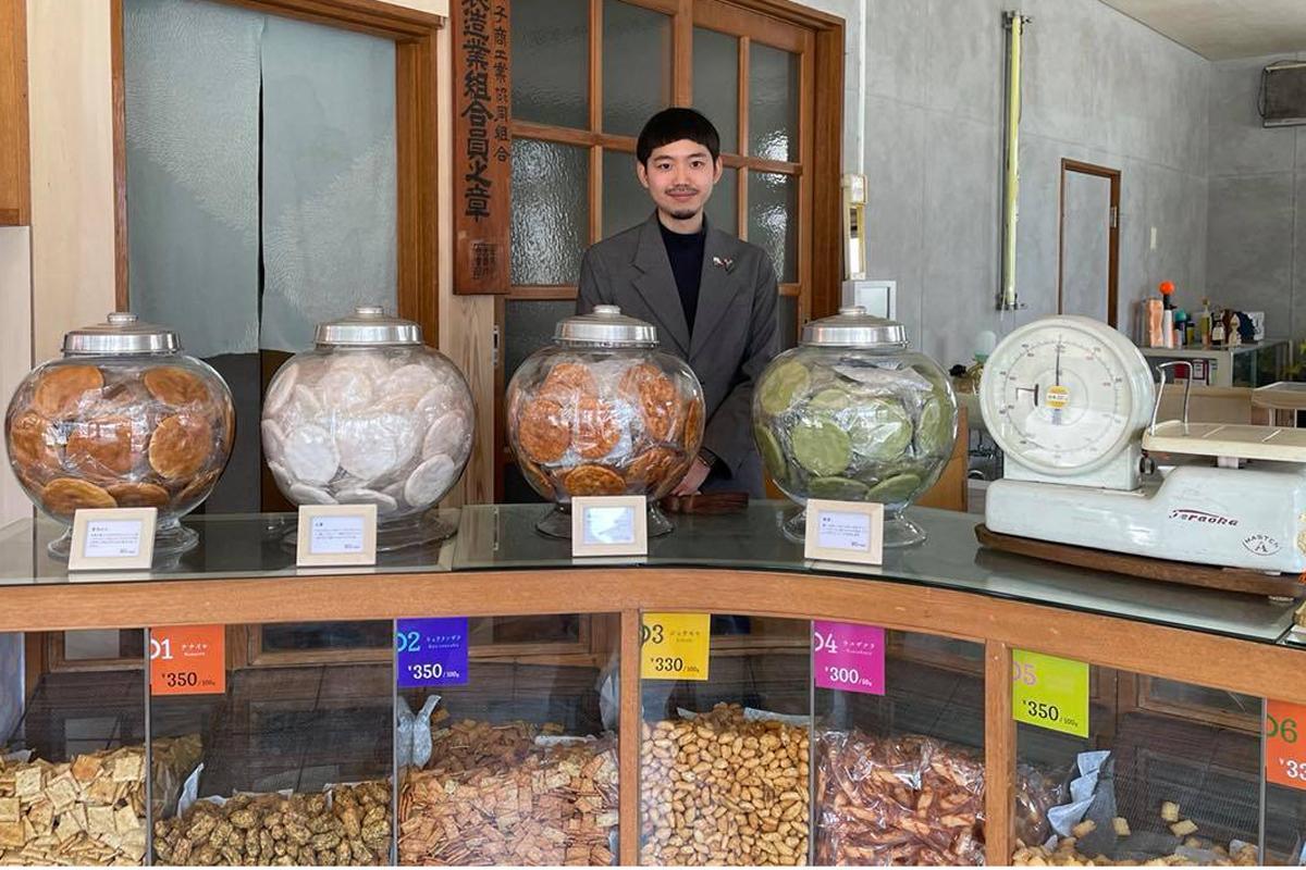 清香園の店主、三橋一仁さん