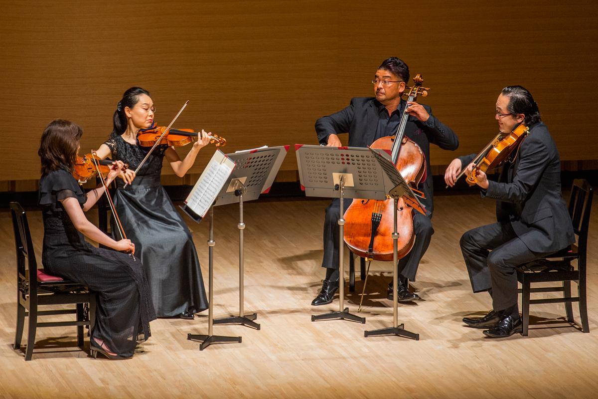出演を予定していた群馬交響楽団、棚田敦子さん、竹内千尋さん、松本恒瑛さん、戸塚伊理一さん。写真はイメージです