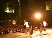 天神周辺でプロ・アマ250組が参加する音楽イベント開催