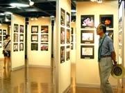 アクロスで88歳までの一般公募作品564点を展示