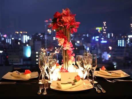 西鉄グランドホテルが「一夜限りのレストラン ノエル2007 Fantasy Night」を開催