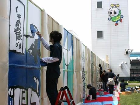 福岡競艇とアーティスト集団「アトリエブラヴォ」がコラボ