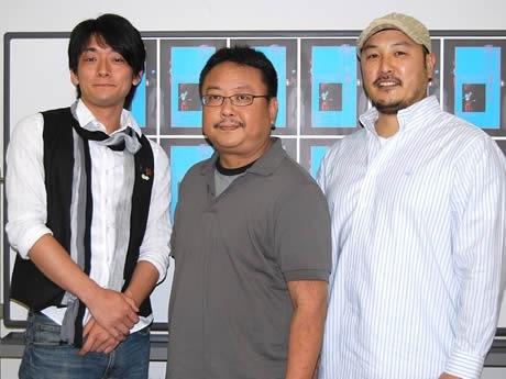 (左より)椎木樹人さん、岩崎正裕さん、山下晶さん