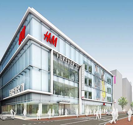 両店が出店する商業ビル「天神西通り スクエア」イメージ