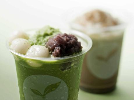 イムズに日本茶カフェ「田頭茶舗」がオープン