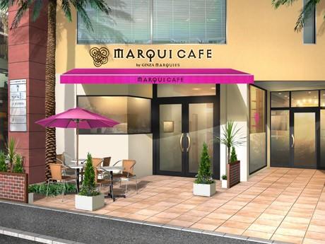 大名にパンケーキカフェ「MARQUI CAFE」がオープン(店舗イメージ)
