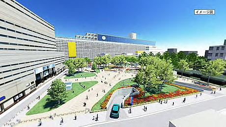 警固公園の完成イメージ