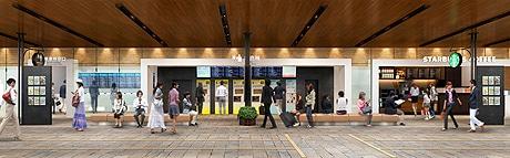 西鉄天神高速バスターミナルが新装