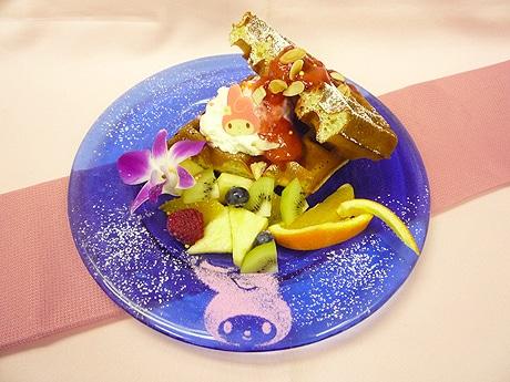 九州初「マイメロカフェ」ではキャラクターをモチーフにしたメニューも