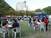 天神中央公園で「九州うまいもの大食堂」 地酒バーも