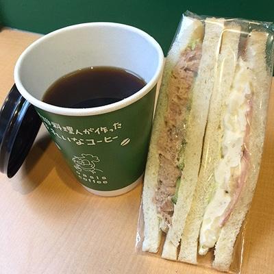 警固公園で「Tenjin 朝カフェ」が開催