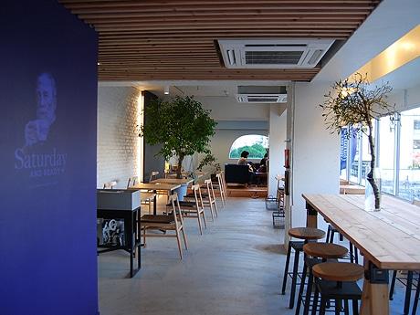 福岡・浄水通にカフェ「Saturday . AND READY」がオープン