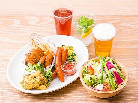 福岡パルコに期間限定「みのりカフェビアテラス」がオープン