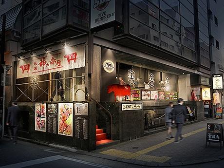 舞鶴にGACKTさんがアドバイザーを務める立ち食い焼き肉店「厳選 神の赤肉」がオープン(画像=外観イメージ)