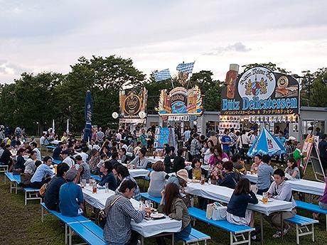 舞鶴公園で「舞鶴公園オクトーバーフェスト2016」が開催