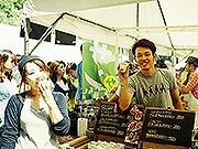 福岡県護国神社で「蚤の市」 植物が並ぶ「グリーンマーケット」も