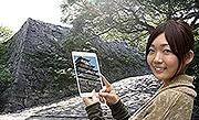 観光アプリで福岡城をVR体験 凸版印刷が配信開始