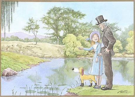 ペリーヌ物語「あの小屋で」© NIPPON ANIMATION CO., LTD.