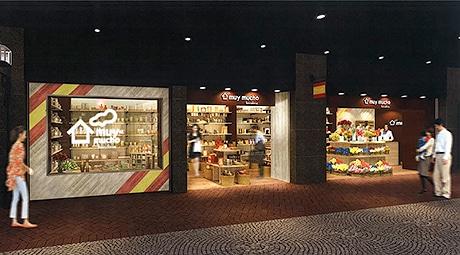 天神地下街にスペイン発雑貨店「ムイムーチョ」がオープン