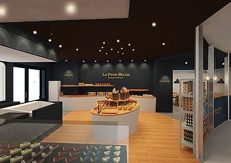 西鉄グランドホテルの洋菓子店「ル・プティパレ」が新装