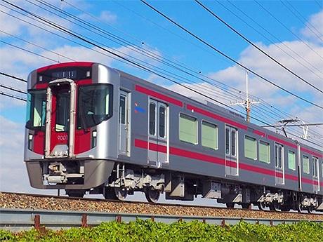 西日本鉄道が天神大牟田線に新型車両「9000形」を導入(写真=益田啓一郎撮影)