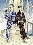 天神で漫画「昭和元禄落語心中」の企画展 原画など100点