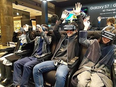 サムスン、天神でイベント「Galaxy Studio」 期間限定でVR体験も