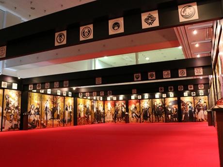 西鉄ホールで「刀剣乱舞-本丸博-」が開催(以前開催された様子)