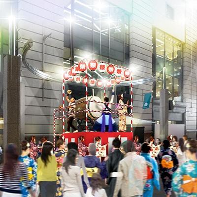 博多大丸で「夏祭り」(画像は盆踊りイメージ)