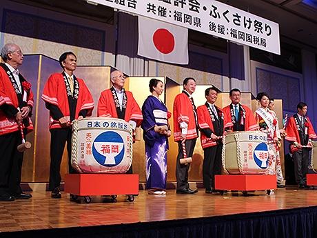 ホテルニューオータニ博多で「ふくさけ祭り」が開催(写真は以前開催された様子)