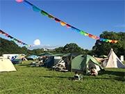 福岡・舞鶴公園でキャンプイベント 音楽ライブやナイトシアターも