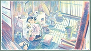 博多大丸で「この世界の片隅に」原画展 130点以上を展示