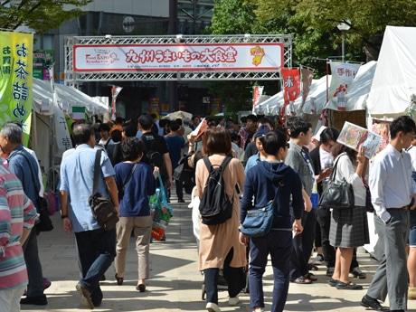 天神中央公園でイベント「九州うまいもの大食堂」が開催(写真は以前開催された様子)