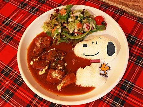 「なかよしビーフシチュー」©2017 Peanuts Worldwide LLC  www.snoopy.co.jp