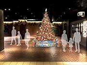 天神地下街がドリカムとクリスマスコラボ オリジナルツリーや抽選会も