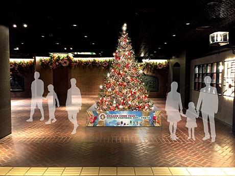 天神地下街でクリスマスイベント「DREAMS COME TRUE WINTER FANTASIA 2017 × 天神地下街」が開催(画像はツリーイメージ)