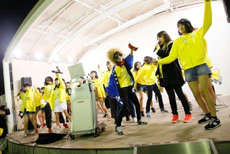 西鉄ホールでHKT480の6周年イベント「HKT48 6フェス」が開催(写真は5周年イベントの様子)