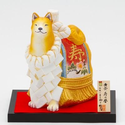 アクロス福岡で「博多人形 『いぬ』の干支(えと)と縁起物展」が開催