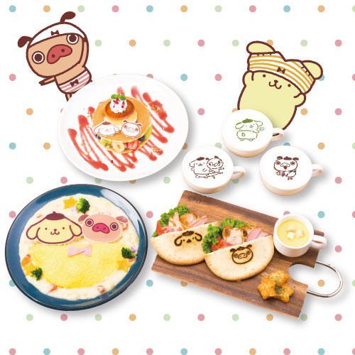 福岡パルコで「パンパカパンツ×ポムポムプリン祭り」 限定カフェも