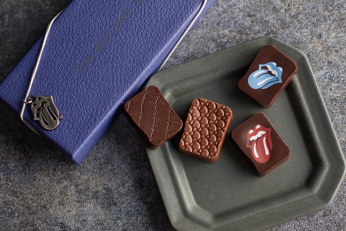ザ・ローリング・ストーンズ」の公式チョコレート