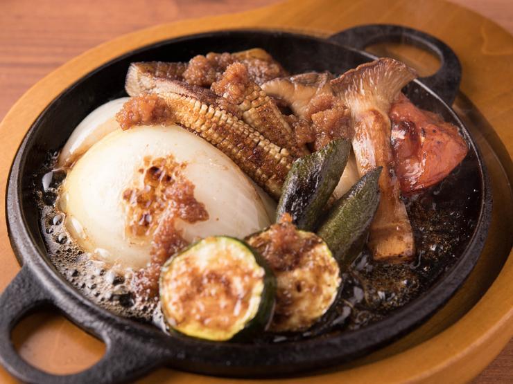 福岡・赤坂にいずみ田赤坂店オープン「7種の焼き野菜の鉄板焼」など鉄板焼きも