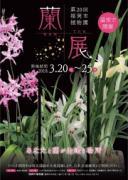 福岡市植物園で蘭展 ガーデントレイン・ガーデンコンサートも