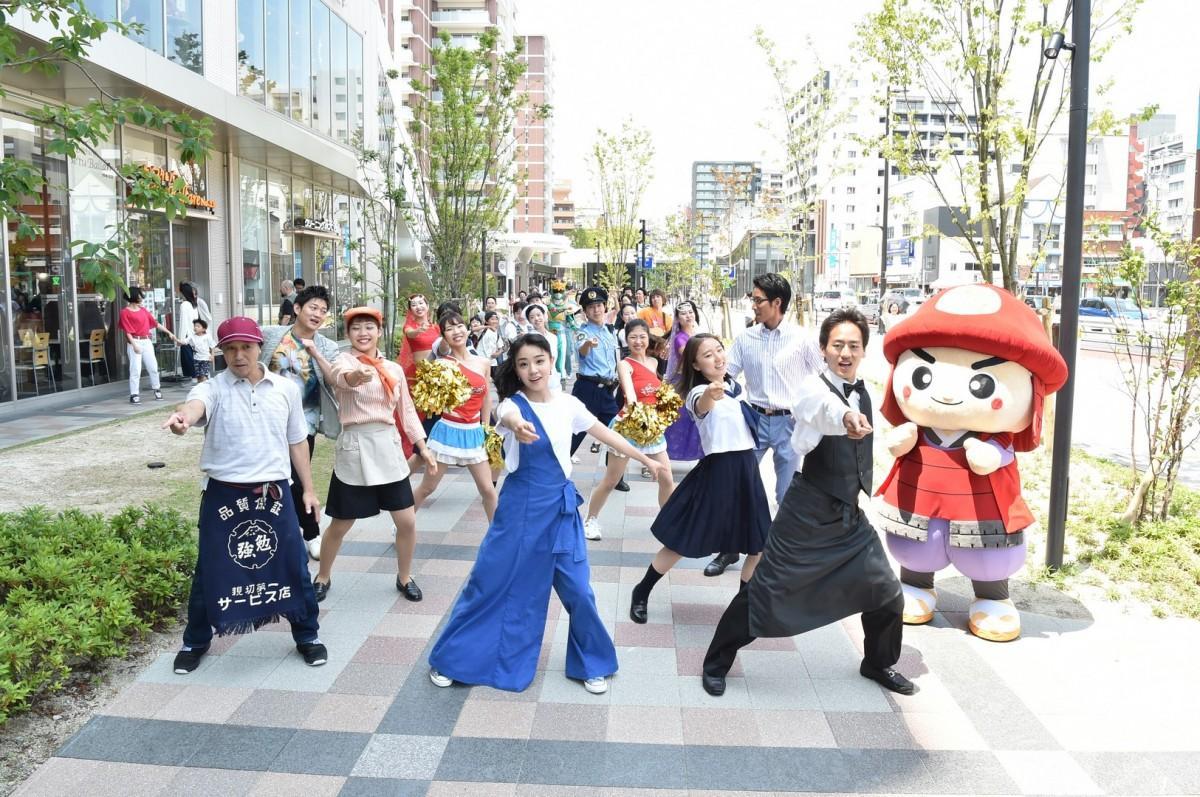 六本松・大濠エリアを舞台にしたドラマ「六本松愛し方改革」