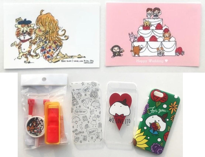 九州で活動するアーティストが手掛けたポストカードやスマホケースなど