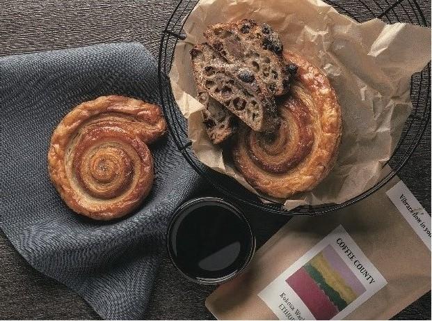 「パンストック」と「コーヒーカウンティ」のコラボ(10月24日~26日)