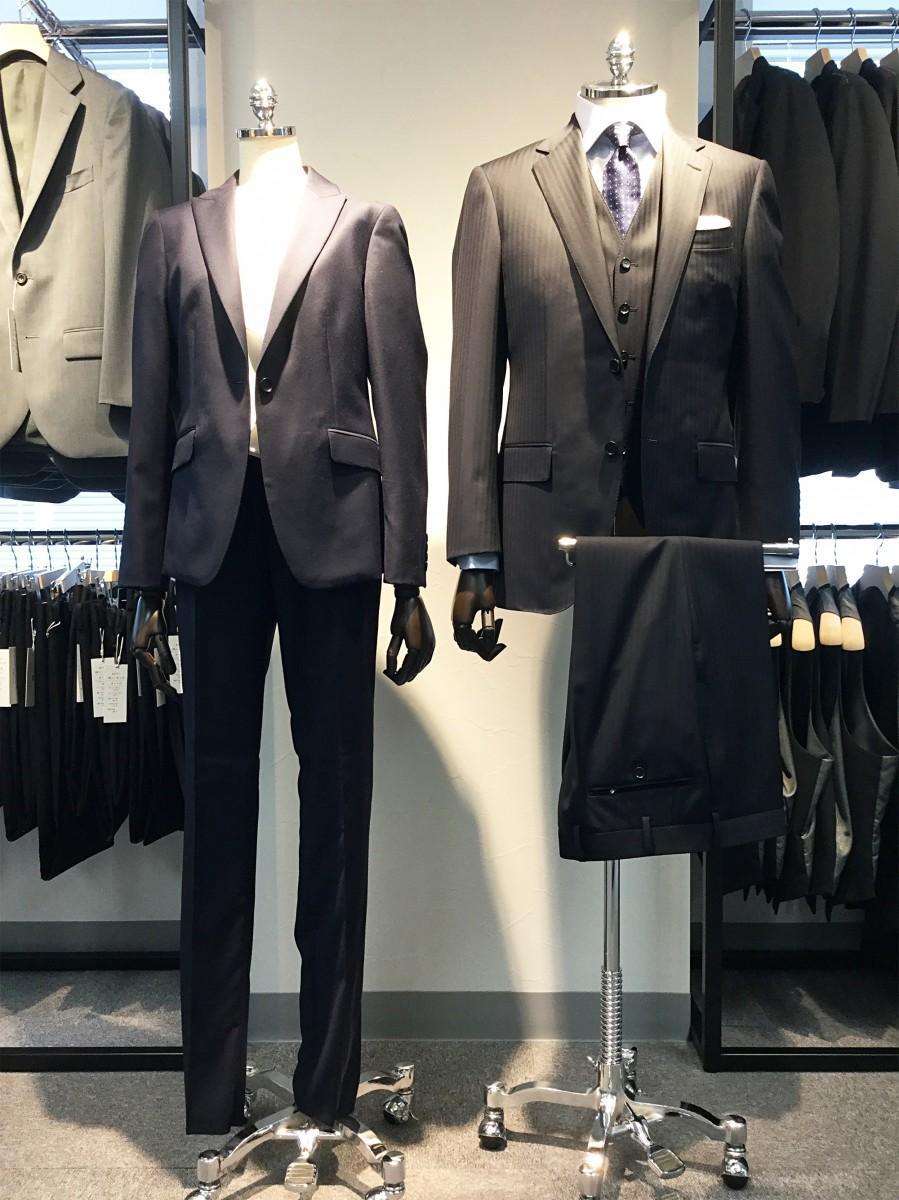 メンズスーツとウィメンズスーツ