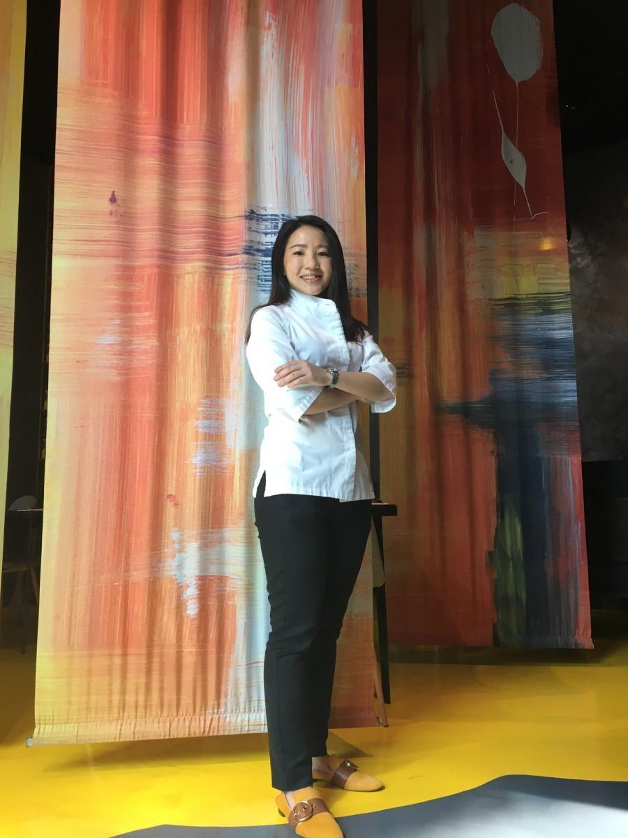 シェフ・アーティストのジャニス・ウォンさん